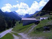 Paradiesische Berghütte in