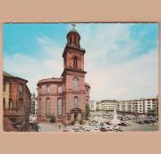Paulskirche Frankfurt am Main gelaufene