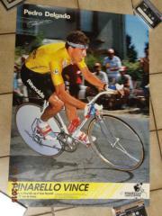 Pedro Delgado Poster