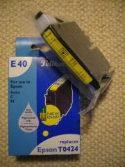 Pelikan Tinten-Patrone E40 Gelb 340429