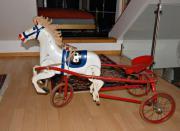 Pferdchen-Wagen aus