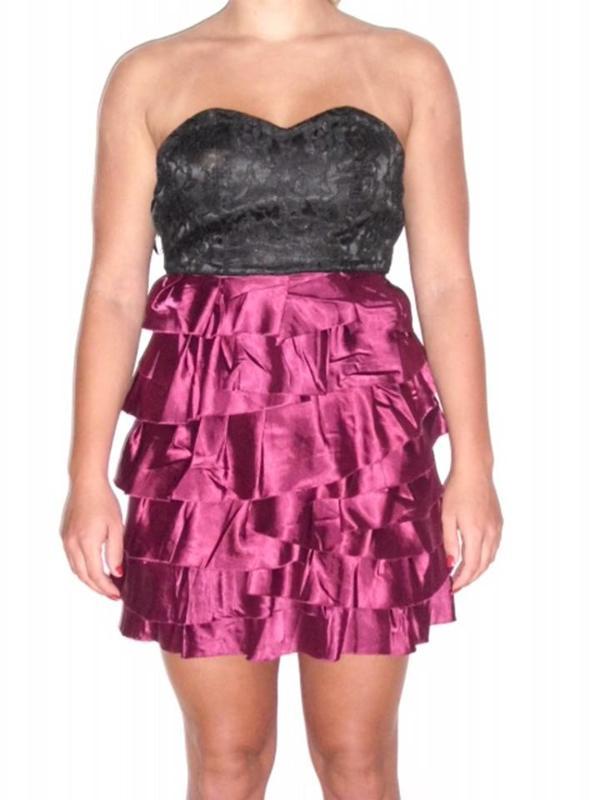 Pink / Schwarzes Kleid Gr.XS in Hamburg - Damenbekleidung kaufen und ...