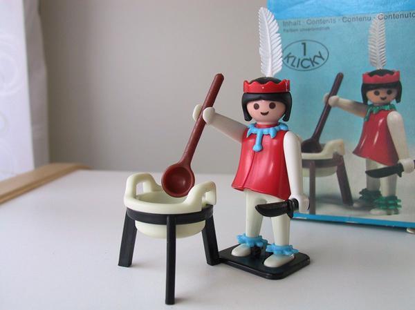 Playmobil Klicky Indianerin Nr 3355