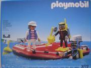 Playmobil - Sporttaucher Boot