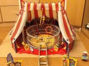 Playmobil Zirkus viel Zubehör wie