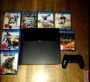 Playstation 4 mitsamt