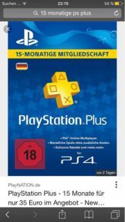PlayStation Plus für