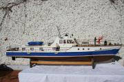 Polizeiboot Schnellboot Modellboot Hafenpolizeiboot