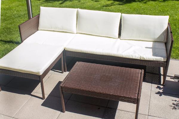 Gartenmobel kissen gebraucht kaufen nur 2 st bis 65 g nstiger Rattan sofa gebraucht