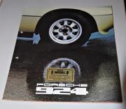 Porsche 924 Prospekt