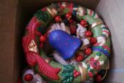 Porzellan-Glockenspiel originalverpackt Geschenk Weihnachtskranz Dm