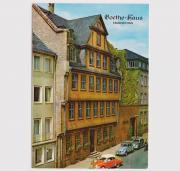Postkarte Goethehaus Frankfurt am Main