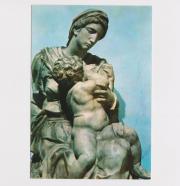 Postkarte von Florenz Michelangelo