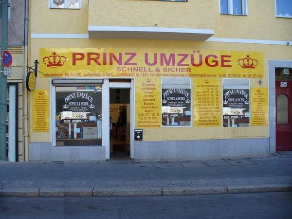 Blitz Umzüge Berlin prinz umzüge berlin umzug tel 060 627 37 681 prinz umzuege de
