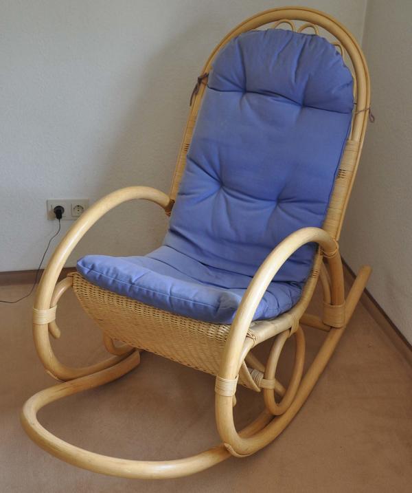 Schaukelstuhl rattan neu und gebraucht kaufen bei for Gebrauchter schaukelstuhl