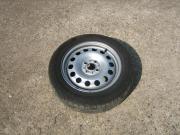 Reifen auf Stahlfelgen -