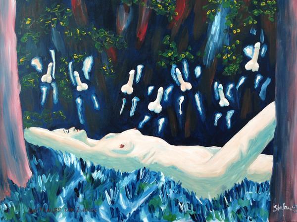 Kunst Gemälde schneewittchen stylisches öl kunstgemälde auf leinwand in