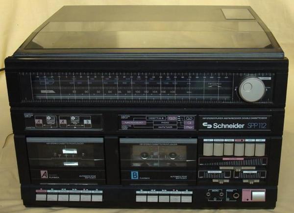 stereoanlage mit boxen und ankauf und verkauf anzeigen. Black Bedroom Furniture Sets. Home Design Ideas
