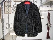 Schöne Persianer Jacke in schwarz