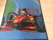 Schöner Ferrari- Kinderzimmer Teppich