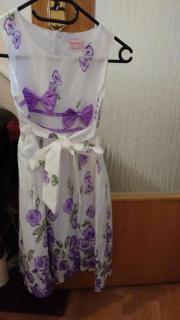 Schönes Mädchen Kleid