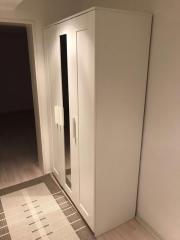 schrank ikea auf rollen in fellbach schr nke sonstige schlafzimmerm bel kaufen und. Black Bedroom Furniture Sets. Home Design Ideas
