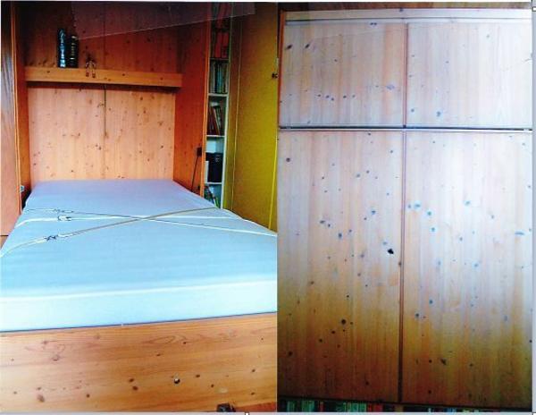 schrankbett klappbett 140 gebraucht kaufen nur 3 st bis 60 g nstiger. Black Bedroom Furniture Sets. Home Design Ideas
