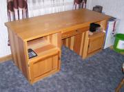 Schreibtisch Lärche zu