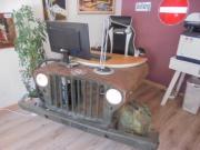 Schreibtisch Willys Jeep