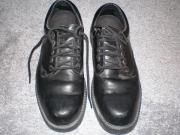 Schuhe für Herren schwarz Glattleder