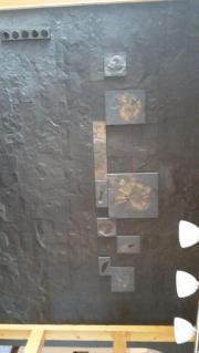 schwarze Schieferplatten Schiefer