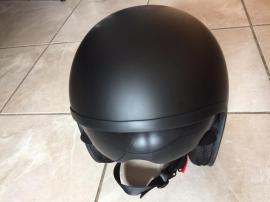 Motorrad-Helme, Protektoren - schwarzer Nexus Jet Motorradhelm mit