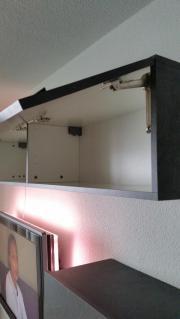 Schwebende Wohnwand Schieferfarben 4 teilig 10 Monate Jung ...