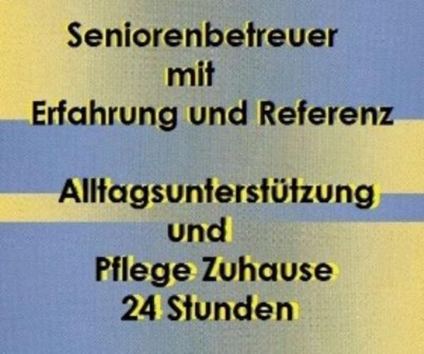 Seniorenbetreuer für Altenpflege » Stellengesuche Festanstellung