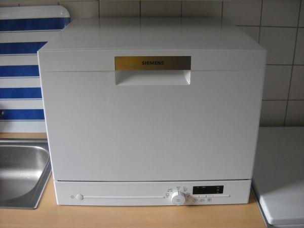 Siemens A+ Tisch-Kompakt-Geschirrspüler SK 26E201EU Weiss in ... | {Tischgeschirrspüler 70}