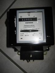 Siemens Drehstromzähler, Stromzähler,