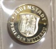 Silbermedaille Ilbenstadt Perle der Wetterau