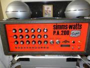 Simms Watts PA200