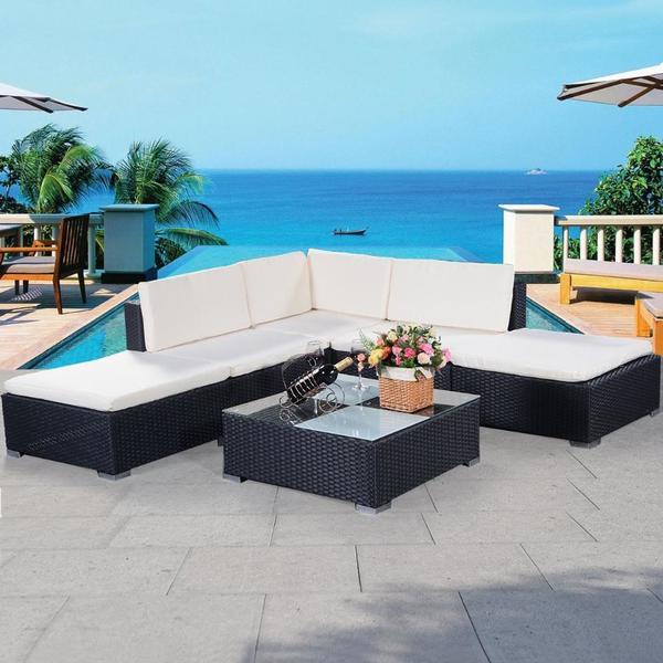 sitzgruppe,garnitur,garten,möbel,lounge,set,terrasse,sitzecke,sofa ... - Sitzgruppe Im Garten Gartenmobel Sets