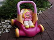 Smoby- Minikiss Puppenwagen,