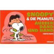 Snoopy die Peanuts außer Rand