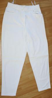 sommerleichte Jeans weiß Gr 40 -
