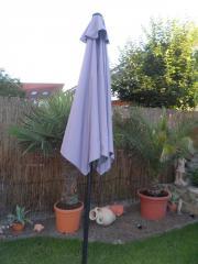 Sonnenschirm mit Kurbel
