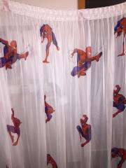 Spiderman vorhang
