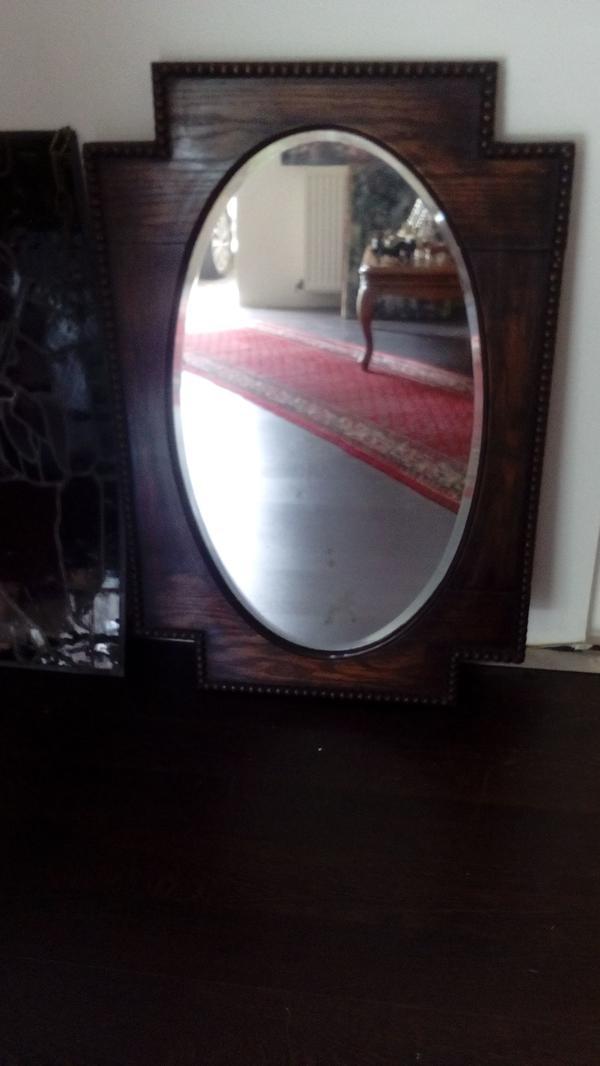 spiegel holzrahmen gebraucht kaufen nur 3 st bis 60. Black Bedroom Furniture Sets. Home Design Ideas