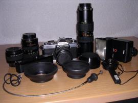 Foto und Zubehör - Spiegelreflex Minolta XD7 technisch und