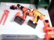 Spielzeug WERKBANK,FlaschenDesinfektionsgerät ,