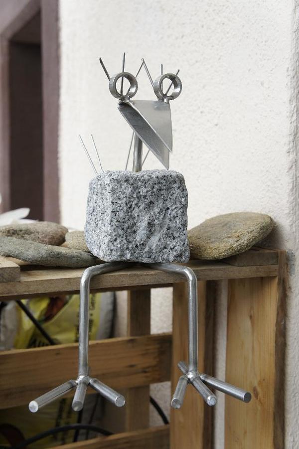 steinvogel edelstahl in neustadt sonstiges f r den garten balkon terrasse kaufen und. Black Bedroom Furniture Sets. Home Design Ideas