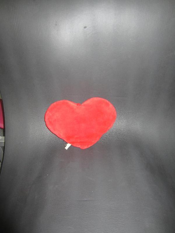 Stoffpuppen Herz