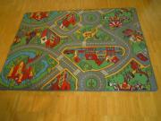Strassenteppich, Kinderteppich, Spielteppich